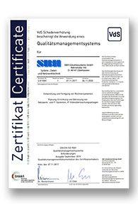 Zertifikat_SBH_Systeme_QM_DIN_EN_ISO_9001