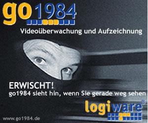 Go1984 Videoüberwachung gegen Verbrechen