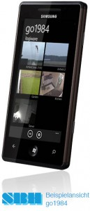 Mobilclient auf Mobiltelefon (Win)